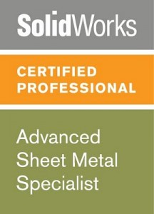 Certified Solidworks Professional Sheet Metal Exam 3d