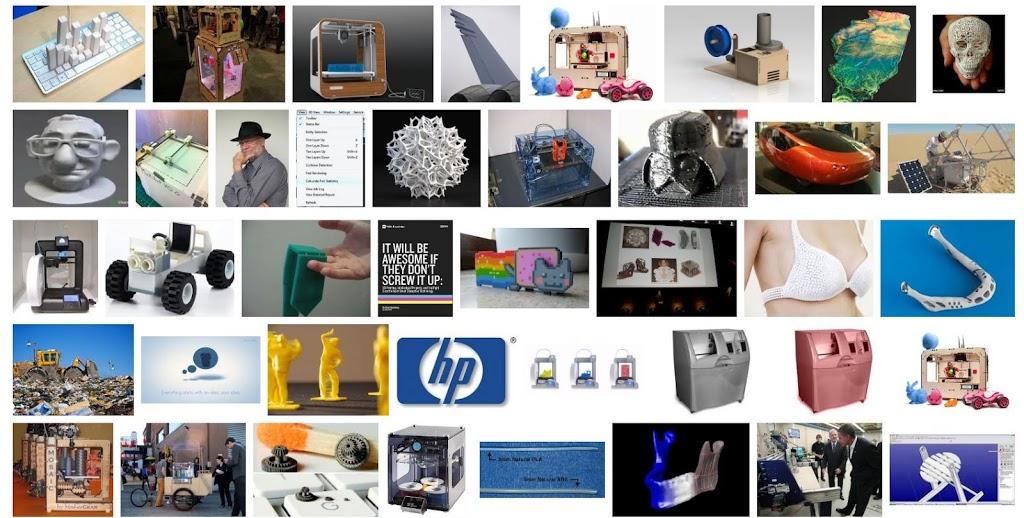 3d printing image collages 3d engineer. Black Bedroom Furniture Sets. Home Design Ideas