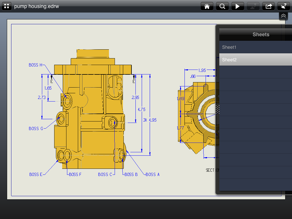 Edrawings Ipad App Review 3d Engineer