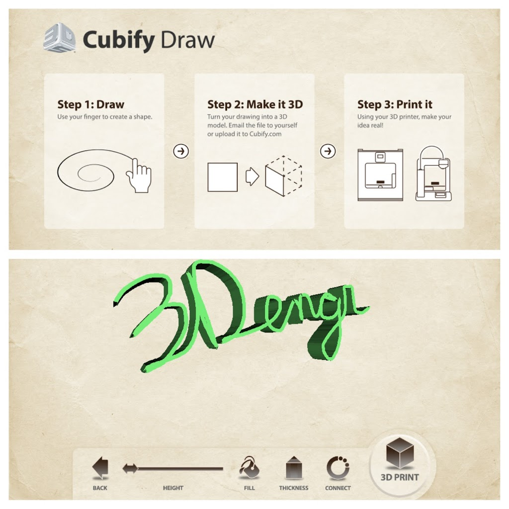 Cubify Draw App Review: A Mobile Way To Create 3D Models - 3D Engineer