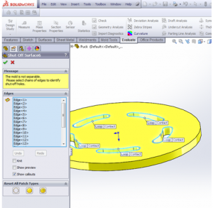 how to turn off draft analysis solidworks