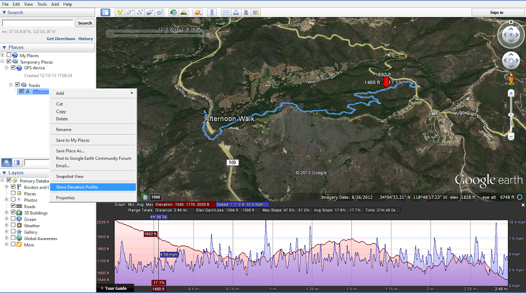 Embed Strava Data On A Website Using Google Maps Or Open In Google - Google earth elevation data