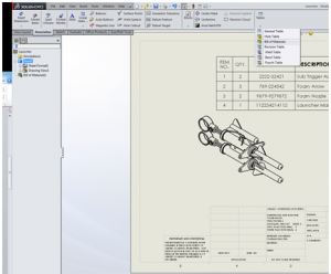 how to insert a break into a drawing in solidworks