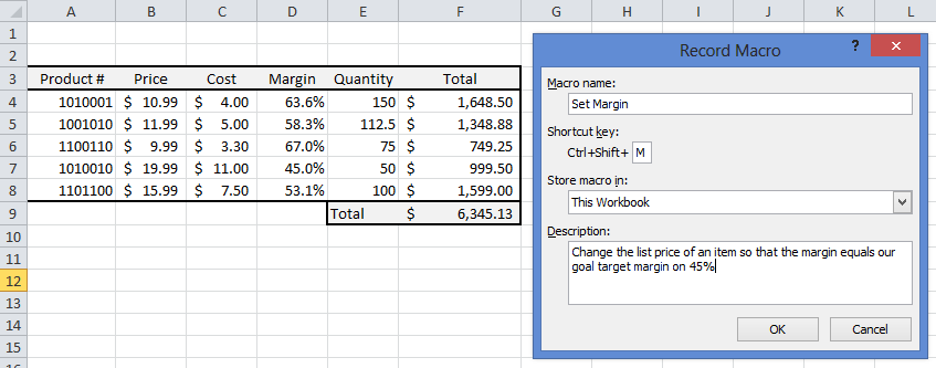 Record a Macro to Capture Keystrokes - Excel Tip - 3D Engineer