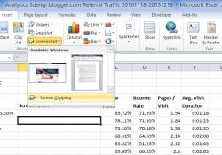 Screenshot-in-Excel
