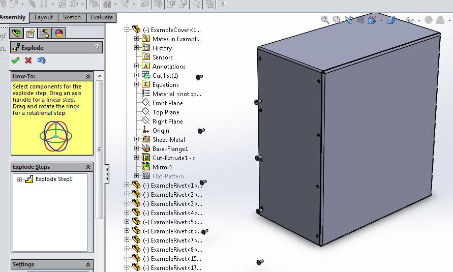 Solidworks Tutorial: Drawings With Exploded Assembly View And Bill Of  Materials