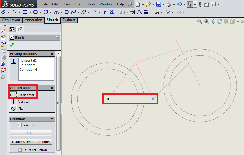 Drawing Angled Lines In Draftsight : Tutorial sketch blocks in solidworks d engineer