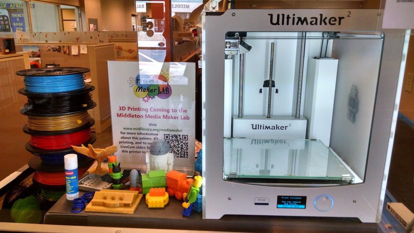 Public Library 3d printer program