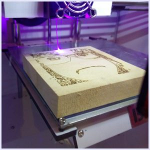 BIBO Touch Laser X Laser Engraver Example